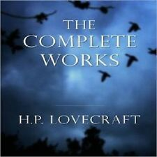 D113  AUDIOBOOK HORROR COLLECTION MP3 CD BY H P LOVECRAFT
