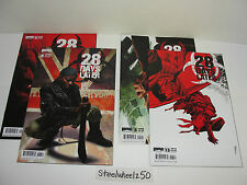 28 Days Later #2 5 6 13 Comic Book Lot Boom Studios 2009 Horror Zombies Movie