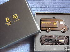 """UPS"" Rare Promotional Item 1GB USB Driver Delievery Van Style, Limited edition"