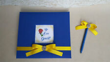 Beauty and the Beast Guest Book Set-Custom guestbook Disney belle wedding bday