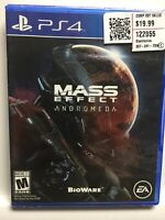 Mass Effect: Andromeda (Sony PlayStation 4,PS4) Brand New Factory Sealed! USA!