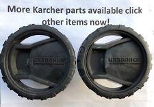 Karcher K2 Full Control Pressure Washer Wheels x2 Set Pair Part No: 5.515-357