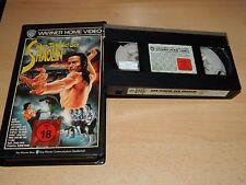 Der Tempel der Shaolin - Ti Lung - Warner Home Verleihtape - VHS - ab 18