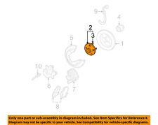 FORD OEM Rear Suspension-Hub & Bearing 3F1Z1104AA