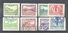 POLAND Locals: Przedborz 1918 Solid background set - 99964