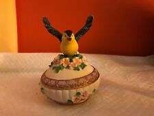 "SONGBIRD TREASURES Bird MUSIC BOX ""  FUR ELISE  "" Heritage House"
