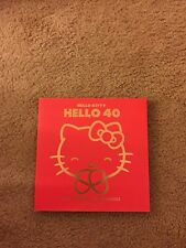 Hello Kitty, Hello 40-SDCC  2014 Exclusive Sighed By Writer Super Rare