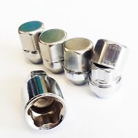 "Classic Mini Alloy Wheel Locking Wheel Nuts 3/8"" Taper Seating Set of 4 Covers"