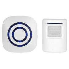Wireless Driveway Door Bell Patrol Motion Sensor LED Chime Alert Alarm System
