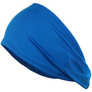 Sport Headband Men Women Head Sweatband Sweat Hair Band Gym Stretch Hair Wrap
