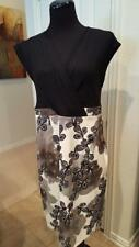 Size 14 I.N Studio Black, White and Grey Sleevless Dress