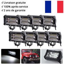 "8x 72W 5"" Rampe LED phares longue portée CREE Camion 12v SUV Buggy l'éclairage"