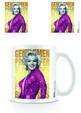Tasse Marilyn Monroe Gentlemen Prefer Café Officiel 11 Oz (environ 311.84 g) Boxed New céramique
