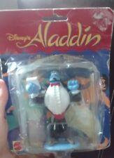 Disney's Aladdin Genie Waiter Maitre'D Collectible Figure 1990's Vintage 4 Inch