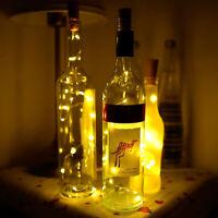 New 2m 20 LED Bar Decor Mini Bottle Stopper Lamp  String Fairy Light US