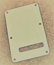Fender American Professional Strat 3 Ply Parchment Tremolo Cover & Screws