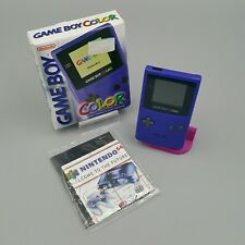 🎮 Nintendo GameBoy Color Konsole - lila / purple - OVP CiB Box
