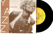 "YAZZ - WHERE HAS ALL THE LOVE GONE? - 7"" 45 VINYL RECORD PIC SLV 1989"
