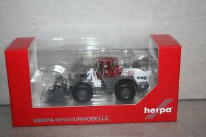 Herpa 308854 Trecker Traktor Liebherr L580 btb Gruppe 2plus2 OVP