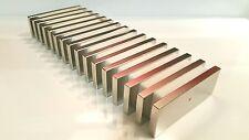 "Large Neodymium N52 Block Magnet Super Strong Rare Earth 3k Gauss 3""x1-1/8x1/4"""