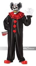Last Laugh Evil Scary Clown Adult Mens Fancy Dress Halloween Costume One Size