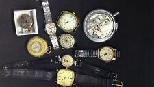 JOB LOT MENS LADIES VINTAGE WATCHES EDOX INGERSOLL SMITHS PLUS OTHERS SPARES REP