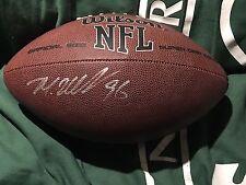 Muhammad Wilkerson DL NY JETS AUTO FULL SIZE FOOTBALL Pro Bowl COA Jets House