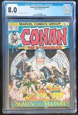 Conan the Barbarian Vol 1 #22 (Marvel Comics 1973) CGC 8.0 Barry Smith art
