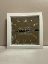 Decorative Wall Clock in a modern white frame