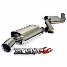 Tanabe T70012 Medalion Touring 80mm Cat-Back Exhaust System for 1993-1998 Supra