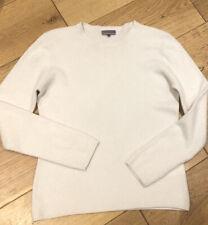 Ladies Uk 12 Cashmere Sweater Jumper Ivory John Lewis