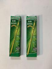 Ticonderoga Pre Sharpened Pencils Hb 2 Yellow Dozen Lot Of 2