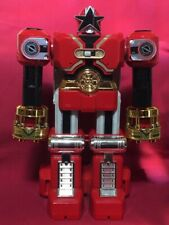 Vintage 1996 Bandai Deluxe Red Battlezord Battle Zord Power Rangers Zeo Punching