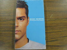 RICKY MARTIN VHS Tape The Ricky Martin Video Collection NEW Rare Out Of Print