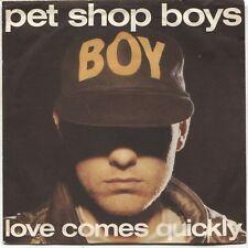 "Pet Shop Boys: Love Comes Quickly - 1986 Australian 7"" Single"