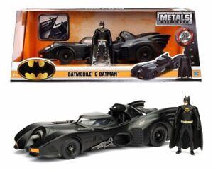 Batman 1989 Batmobile 1:24 with Batman - Jada diecast w/ figure NEW - FREE POST