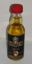 Mignon HAVEN liquore secco a base d'avena Sigillata con tappo in plastica