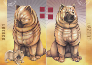 Canada Unitrade UX160-61 POSTAL CARDS,YEAR OF THE DOG, (set of 2) $ 8.00