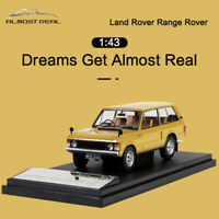 Almost Real Land Rover Range Rover 1970 Yellow 1:43 Diecast Car Model Collection
