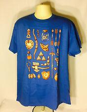 LEGEND OF ZELDA ITEMS T-Shirt (XL) Gamer Block Nerd Block EXCLUSIVE