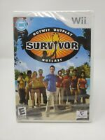 NINTENDO Wii SURVIVOR OUTWIT/OUTPLAY/OUTLAST FACTORY SEALED