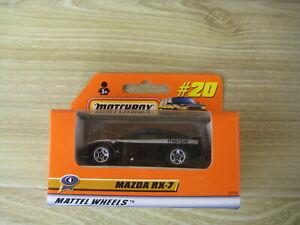 MATCHBOX SUPERFAST  MB20   MAZDA RX 7   Black       ABSOLUTELY MINT