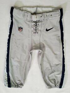 #48 of Dallas Cowboys Locker Room Player Worn Silver Football Pants - 36 Short