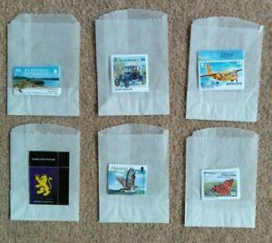 ALDERNEY Collection 6 Sets of U/M Stamps inc £5 Coat of Arms