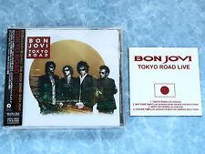 """BON JOVI Tokyo Road UICL-9001 JAPAN CD+BONUS 3""""CD w/OBI 034az40"""