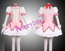 Puella Magi Madoka Magica Madoka Kaname Cosplay Costume Custom-made