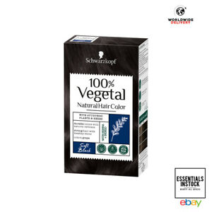 Schwarzkopf 100% Vegetal Hair Colour Soft Black