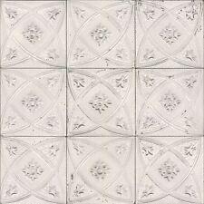 Piastrella in ceramica CARTA DA PARATI ROTOLI-RASCH 932508-Bianco Nuovo
