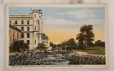 Antique Postcard Posted 1918 Lily Pond Illinois State Pen Joliet