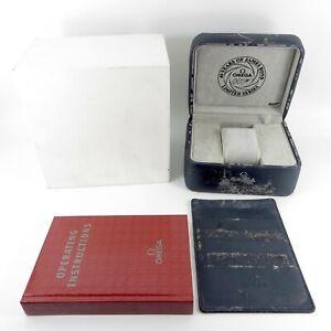 GENUINE OMEGA WATCH BOX SEAMASTER JAMES BOND 007 40TH ANNIVERSARY LIMITED